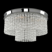 Allegri 029520-010 Savena 2 Light 8 inch Chrome Wall Sconce Wall Light