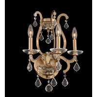 Allegri 029623-038-FR001 Duchess 3 Light 14 inch Brushed Champagne Gold Wall Sconce Wall Light