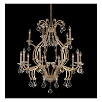 Allegri 029652-038-FR001 Duchess 15 Light 35 inch Brushed Champagne Gold Chandelier Ceiling Light