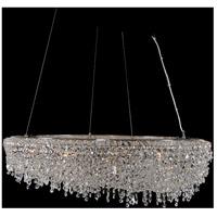 Allegri 029753-010-FR001 Voltare 12 Light 36 inch Chrome Pendant Ceiling Light
