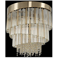 Allegri 029850-038-FR001 Espirali 6 Light 20 inch Brushed Champagne Gold Pendant Ceiling Light
