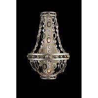 Allegri 029921-042 Lucia 2 Light 11 inch Vintage Silver Leaf Wall Sconce Wall Light