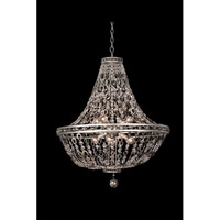 Allegri 029952-042 Lucia 8 Light 26 inch Vintage Silver Leaf Pendant Ceiling Light