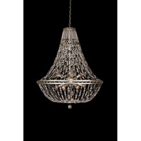 Lucia 12 Light 32 inch Vintage Silver Leaf Pendant Ceiling Light