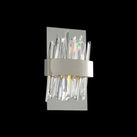 Glacier 8 inch Polished Chrome Wall Bracket Wall Light