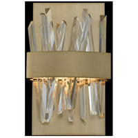 Allegri 030220-038 Glacier LED 8 inch Brushed Champagne Gold ADA Wall Sconce Wall Light