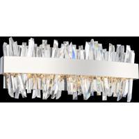 Allegri 030231-010 Glacier LED 18 inch Chrome Bath Vanity Wall Light