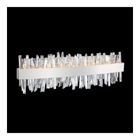Allegri 030232-010-FR001 Glacier LED 24 inch Chrome Vanity Light Wall Light