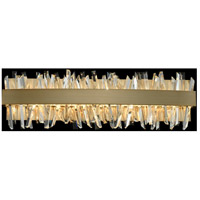 Allegri 030232-038 Glacier LED 24 inch Brushed Champagne Gold Vanity Light Wall Light