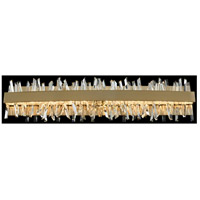 Allegri 030233-038 Glacier LED 32 inch Brushed Champagne Gold Vanity Light Wall Light