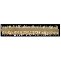 Allegri 030234-038 Glacier LED 38 inch Brushed Champagne Gold Vanity Light Wall Light