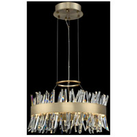 Allegri 030253-038 Glacier LED 20 inch Brushed Champagne Gold Pendant Ceiling Light