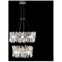Glacier LED 32 inch Chrome Pendant Ceiling Light