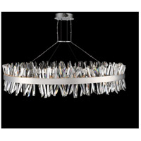 Allegri 030257-010 Glacier LED 60 inch Chrome Pendant Ceiling Light
