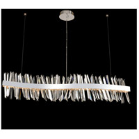 Glacier LED 60 inch Chrome Island Ceiling Light