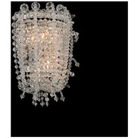 Allegri 030624-010-FR001 Cielo 2 Light 8 inch Chrome Wall Sconce Wall Light