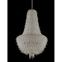 Impero 15 Light 31 inch Chrome Pendant Ceiling Light