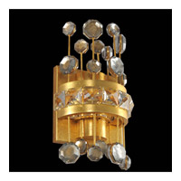 Fortuna 6 inch Vienna Gold Leaf Wall Bracket Wall Light