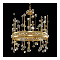 Allegri 030750-037-FR001 Fortuna 19 inch Vienna Gold Leaf Pendant Ceiling Light photo thumbnail