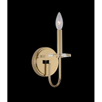 Allegri 031221-041-FR001 Bolivar 1 Light 5 inch Champagne Gold Wall Bracket Wall Light