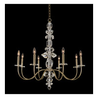 Allegri 031251-041-FR001 Bolivar 8 Light 34 inch Champagne Gold Chandelier Ceiling Light photo thumbnail