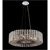Anello 9 Light 26 inch Chrome Pendant Ceiling Light