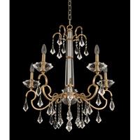 Allegri 031650-038-FR001 Valencia 5 Light 26 inch Brushed Champagne Gold Chandelier Ceiling Light