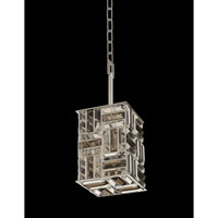 Modello 1 Light 6 inch Chrome Mini Pendant Ceiling Light