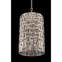 Modello 8 Light 19 inch Chrome Foyer Light Ceiling Light