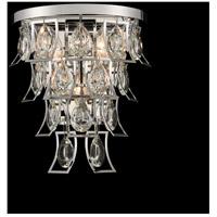 Allegri 031920-010-FR001 Carmella 3 Light 10 inch Chrome Wall Sconce Wall Light