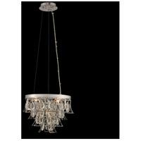Allegri 031950-010-FR001 Carmella 3 Light 14 inch Chrome Pendant Ceiling Light