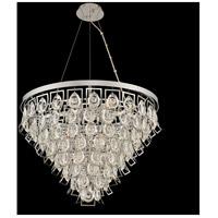 Allegri 031951-010-FR001 Carmella 9 Light 27 inch Chrome Pendant Ceiling Light