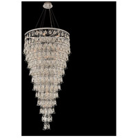 Carmella 28 Light 36 inch Chrome Pendant Ceiling Light