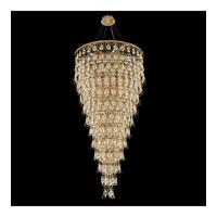 Carmella 28 Light 36 inch Brushed Brass Pendant Ceiling Light