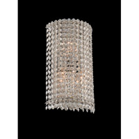 Torre 3 Light 8 inch Chrome Wall Sconce Wall Light
