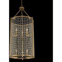Allegri 032150-043-FR001 Verona 6 Light 19 inch Brushed Pearlized Brass Foyer Ceiling Light