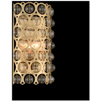 Allegri 032220-038-FR001 Vita 1 Light 12 inch Brushed Champagne Gold Wall Sconce