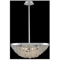 Allegri 032450-010-FR001 Lana 6 Light 21 inch Chrome Pendant Ceiling Light