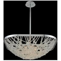 Allegri 032451-010-FR001 Lana 6 Light 26 inch Chrome Pendant Ceiling Light