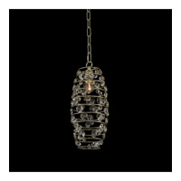 Allegri 032510-041-FR001 Gemini 1 Light 7 inch Champagne Gold Mini Pendant Ceiling Light