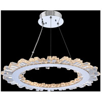 Allegri 032750-010-FR001 Quasar LED 28 inch Chrome Pendant Ceiling Light