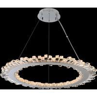 Allegri 032751-010-FR001 Quasar LED 34 inch Chrome Pendant Ceiling Light