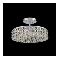 Allegri Chrome Crystal Semi-Flush Mounts