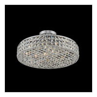 Loro 4 Light 16 inch Chrome Semi Flush Mount Ceiling Light