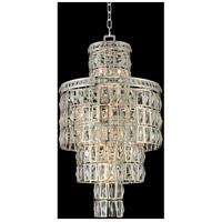 Allegri 033250-014-FR001 Kasturi 13 Light 18 inch Silver Flush Mount Ceiling Light