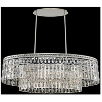 Allegri 033260-014-FR001 Kasturi 6 Light 42 inch Polished Silver Island Light Ceiling Light