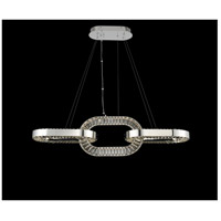 Allegri 034360-010-FR001 Catena LED 48 inch Chrome Island Light Ceiling Light