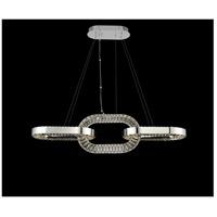 Allegri 034360-010-FR001 Catena LED 48 inch Chrome Island Ceiling Light