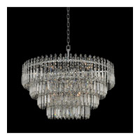 Pandoro 15 Light 33 inch Chrome Pendant Ceiling Light