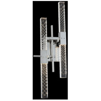 Allegri 034922-010-FR001 Apollo 9 inch Chrome Wall Sconce Wall Light